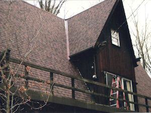 Roof after replacement
